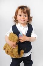 little boy with bear